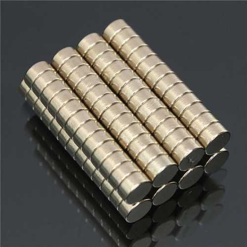 100pcs N50 Super Strong Disc Magnets 6mm x 3mm Rare Earth Neodymium Magnets