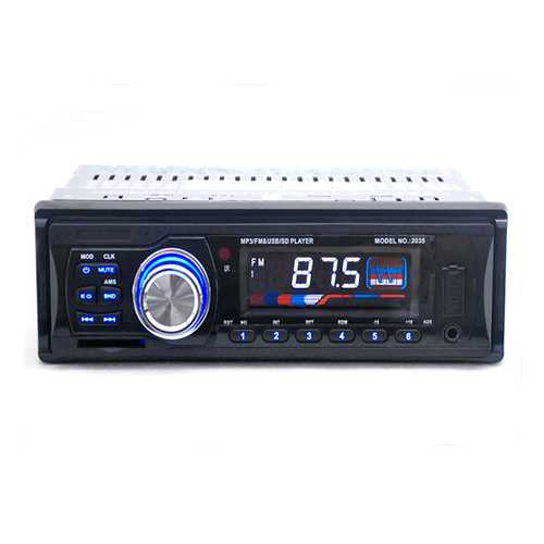 12V Car Radio FM MP3 Player USB SD Slot Supports Play MP3/MP4/MP5D Forma Music Remote