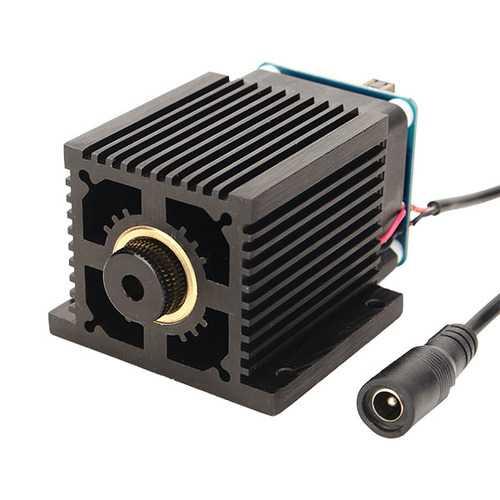 LA03-5500 5500mW 445nm Blue Laser Module w/ Heat Sink for EleksMaker DIY Engraver Machine