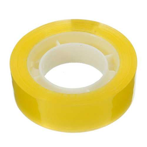 15mm Width Clear Transparent Tape Seal Ring Packing Shipping Stationery