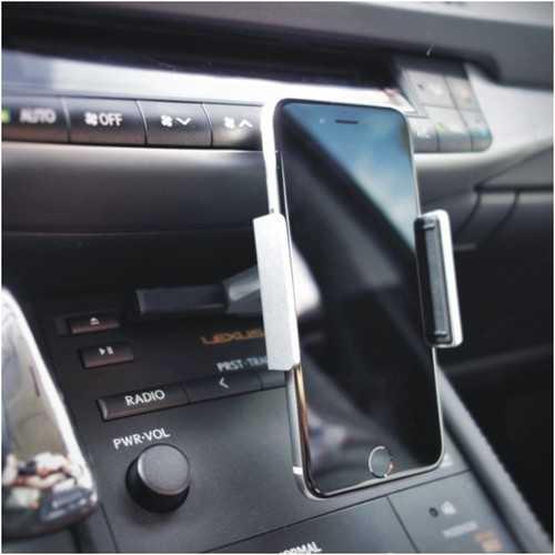 Alightstone Universal 360° Rotation CD Slot Car PhonE-mount Holder for 3.5-5.5 inch Cell Phone