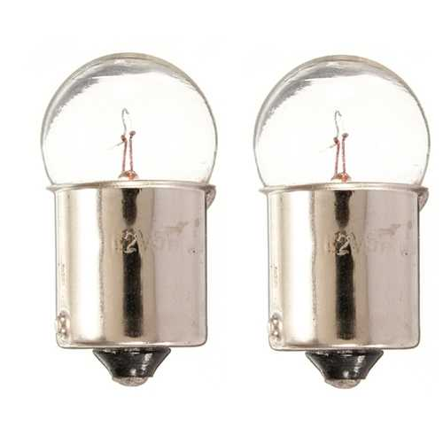 1 Pair 12V 5W 207 Brake Reverse Tail Stop Indicator Light Car Bulbs