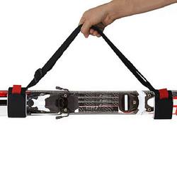 Thick Ski Lash Straps Ski Carrier Shoulder Double Board Handle Binding Belt Ski Straps
