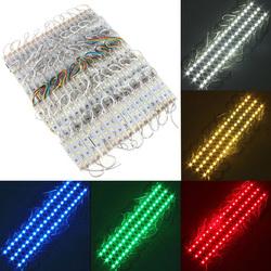 20 Pieces 5050 SMD 60 LED Module Rigid Strip String Light Multi-Colors Waterproof DC 12V