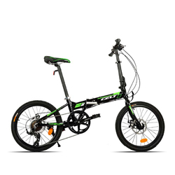 Category: Dropship Cycling, SKU #1015638, Title: 20 Inch Folding Bike Bicycle Mini Foldable Bike Aluminum Alloy Frame Variable Speed