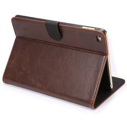 ENKAY Crazy Horse Leather Case With Sleep/Wake-up Function For iPad Mini 4