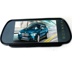 7 inch TFT LCD Wide Screen Rear View Mirror Monitor+Car Reverse Parking Rear View Kit