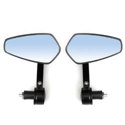 7/8inch 22mm Universal Motorcycle Handlebar Bar End Rear View Mirrors