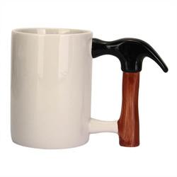 Creative Ceramic Hammer Cup Unique Hammer Design Coffee Mug Cup