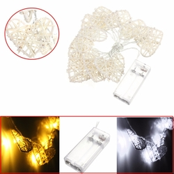 10 LED Love Heart String Light Happy Handmade Lamp Party Home Wedding Decor