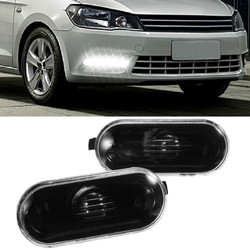 Pair Side Marker Lights(NO Bulbs) for Volkswagen Passat B5/B5.5 Golf /Jetta MK4