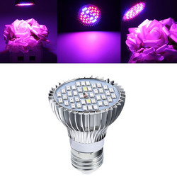 15W E27 Full Spectrum LED Plant Grow Lights Bulb Veg Hydroponic Lamps