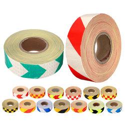 50m x 50mm Stripe Safety Reflective Self Adhesive Warning Tape Sticker