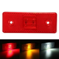 4 LED 24V Truck Trailer Lorry Side Marker Light Lamp Amber White Red