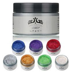 Unisex DIY Hair Wax Mud Disposable Temporary Modeling Dye Cream