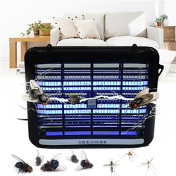 220V 1W LED Light Electronic Indoor Mosquito Insect Killer Bug Fly Zapper US Plug