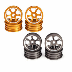1/28 Upgraded Metal Rims 4PCS For WLtoys K979 K989 Rally Off Road RC Cars
