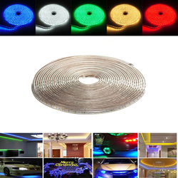 13M 45.5W Waterproof IP67 SMD 3528 780 LED Strip Rope Light Christmas Party Outdoor AC 220V