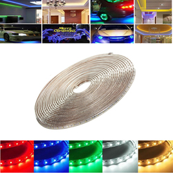11M 38.5W Waterproof IP67 SMD 3528 660 LED Strip Rope Light Christmas Party Outdoor AC 220V