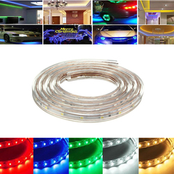 4M 14W Waterproof IP67 SMD 3528 240 LED Strip Rope Light Christmas Party Outdoor AC 220V