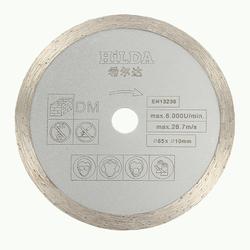 HILDA 10mm Silicon Carbide Saw Blade 85x1.8mm Diamond Saw Blade for Marble Ceramic