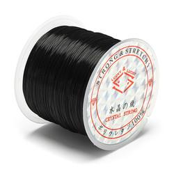 50m 0.6mm DIY Crystal Beads Elastic Rope String Line Design Repair Jewelry Accessories