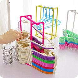Creative Clothes Hanger Storage Rack Multifunctional Clothespin Oraganizer Holder