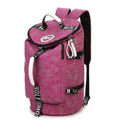 Women Men Multifunctional Canvas Big Backpack Crossbody Bag Travel Handbag