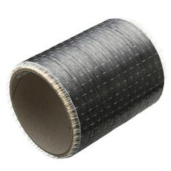 12K 200gsm 270×10cm Plain Weave Carbon Fiber Cloth Fabric