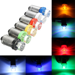 12V BA9S Car LED Side Maker Light Dashboard Lamp Panel Indicator Bulb