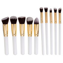 10Pcs Makeup Brushes Kit Set Blush Face Foundation Powder Cosmetic Brush Professional