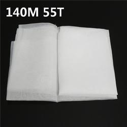 140M 55T Polyester Silk Screen Printing Mesh Fabric Sheet
