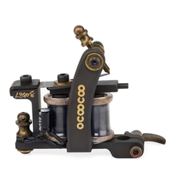 Category: Dropship Tattoos & Body Art, SKU #1095900, Title: OCOOCOO S8808 T600A 9000 rev / min Master Professional Carved Copper Secant Tattoo Machine