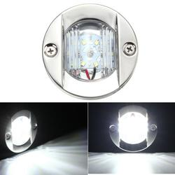 75mm LED Stern Lights Tail Lamp Transom Anchor IP66 2.2W 12V White 1Pcs for Marine Boat