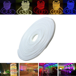 Category: Dropship Led Lights, SKU #1101721, Title: 15M 2835 LED Flexible Neon Rope Strip Light Xmas Outdoor Waterproof 110V