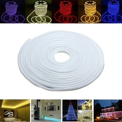 Category: Dropship Led Lights, SKU #1101722, Title: 15M 2835 LED Flexible Neon Rope Strip Light Xmas Outdoor Waterproof 220V