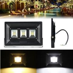 100W LED Ultra Thin Waterproof Flood Light Outdooors Garden Yard Lamp AC220V