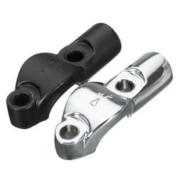 7/8 Inch Brake Clutch Master Cylinder Mirror M10 Mount Bracket Motorcycle Universal