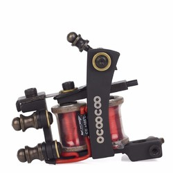 Category: Dropship Tattoos & Body Art, SKU #1109539, Title: OCOOCOO ST500 Japan OFC High End Warps Coils Master Shader Tattoo Machine High Performance