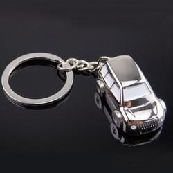 Zinc Alloy Key Chain Key Ring SUV Car Shape Unisex Fashion Creative Model Gift