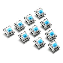 10PCS 3 Pin Mechanical Keyboard Switch Blue Switch