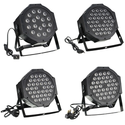 RGB Remote DMX512 Voice Activated 36 LED Stage Light Party Disco KTV Lamp 110-240V