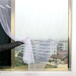 Honana WX-328 White Curtain Insect Mosquito Self-adhesive Door Window Nylon Mesh Screen Net Sticky