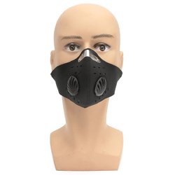 Motorcycle Racing PM2.5 Gas Protection Filter Respirator Dust Face Mask Head