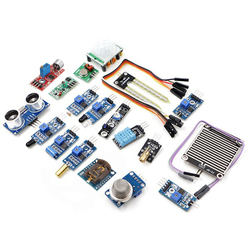 Geekcreit® 16 In 1 Sensor Module Kit Laser Ultrasonic Obstacle Avoidance For Raspberry Pi 2 Pi2 Pi3 Plastic Bag Package