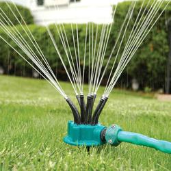 360° Sprinkler Garden Irrigation Multi-nozzle Lawn Green Roof Cooling Rotation Sprayer