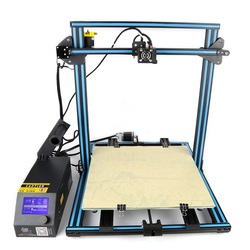Category: Dropship Printers, SKU #1139854, Title: Creality 3D?® CR-10S Customized 400*400*400 Printing Size DIY 3D Printer Kit With Z-axis Dual T Screw Rod Motor Filament Detector 1.75mm 0.4mm Nozzle