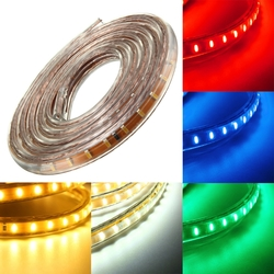 1M SMD3014 Waterproof LED Rope Lamp Party Home Christmas Indoor/Outdoor Strip Light 220V