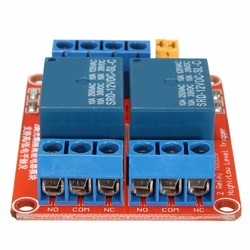 5Pcs 12V 2 Channel Relay Module With Optocoupler Support High Low Level Trigger Geekcreit for Arduino - products that work with official Arduino boards