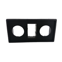 Assemble Mounting Frame Two Round Hole Side Frame One Square Hole Middle Frame
